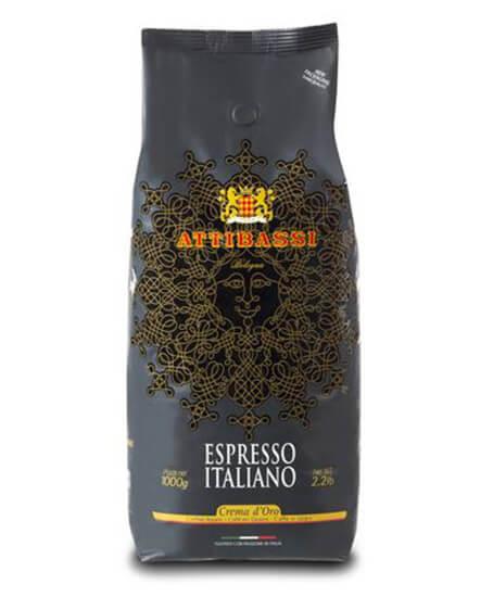 Attibassi Espresso Crema D'oro in Grani