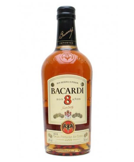 Bacardi 8 Y.O.