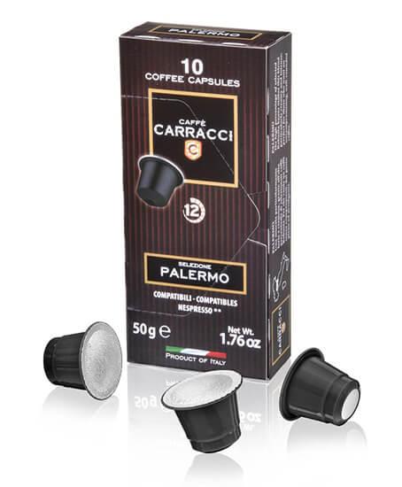 Carracci Capsule Compatibili Nespresso Palermo