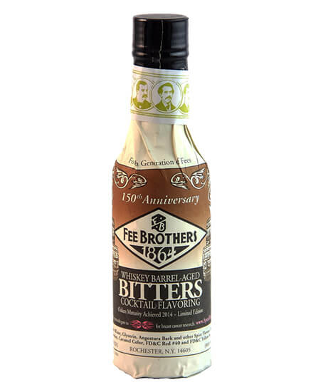 Fee Brothers Whisky Barrel Aged Bitters-Limited